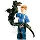 Plyšová hračka: Velký mořský had plyšový, Folkmanis