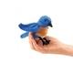 Plyšová hračka: Salašník horský na prst plyšový, Folkmanis
