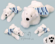 Plyšová hračka: JUMBO lední medvěd Iceberg plyšový, Russ Berrie
