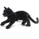 Plyšová hračka: Černá kočka plyšová, Folkmanis