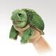 Plyšová hračka: Želva maňásek na ruku plyšový, Folkmanis