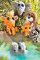 Plyšová hračka: Menší žirafka Lanna plyšová, Suki Gifts