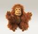 Plyšová hračka: Orangutan menší plyšový, Folkmanis