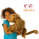 Plyšová hračka: Velký lev plyšový, Folkmanis