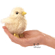 Plyšová hračka: Maňásek na prst kuřátko plyšové, Folkmanis