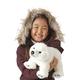 Plyšová hračka: Lední medvěd mládě plyšový, Folkmanis