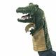 Plyšová hračka: Maňásek krokodýl plyšový, Folkmanis