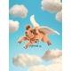 Plyšová hračka: Létající prasátko plyšák, Folkmanis
