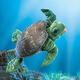 Plyšová hračka: Mořská želva plyšový, Folkmanis
