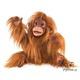 Plyšová hračka: Orangutan mládě plyšový, Folkmanis