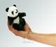 Plyšová hračka: Maňásek na prst panda plyšová, Folkmanis