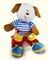 Plyšová hračka: Knoflíkový pejsek plyšový, Russ Berrie