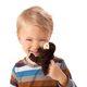 Plyšová hračka: Vydra mořská na prst plyšák, Folkmanis