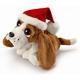 Plyšová hračka: Baset Sniffy s čepicí plyšový, Russ Berrie