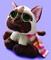 Plyšová hračka: Siamská kočka Seonmi s šálou plyšová, Russ Berrie