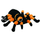 Plyšová hračka: Pavouk Tarantule plyšový, Suki Gifts