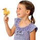 Plyšová hračka: Kachnička na prst plyšová, Folkmanis