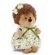 Plyšová hračka: Ježek Fluffy - květované šaty plyšový, Orange Toys