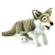 Plyšová hračka: Šedý vlk plyšový, Folkmanis