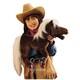 Plyšová hračka: Hnědý kůň velký plyšový, Folkmanis