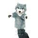 Plyšová hračka: Maňásek vlk plyšový, Folkmanis