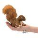 Plyšová hračka: Veverka na prst plyšová, Folkmanis