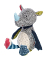 Plyšová hračka: Velký nosorožec Sweety plyšák, sigikid