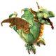 Plyšová hračka: Wyverna drak plyšový, Folkmanis