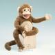 Plyšová hračka: Dlouhonohá opice plyšová, Folkmanis