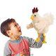 Plyšová hračka: Veselé kuře plyšový, Folkmanis