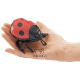 Plyšová hračka: Beruška na prst maňásek, Folkmanis