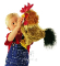 Plyšová hračka: Kohout plyšový, Folkmanis