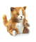 Plyšová hračka: Zrzavá kočka Tabby plyšová, Folkmanis