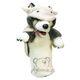 Plyšová hračka: Vlk v rouše beránčím maňásek na ruku plyšový, Folkmanis