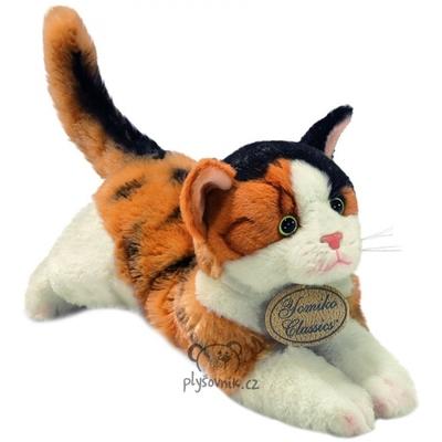 Plyšová hračka: Trojbarevné kotě Calico plyšová | Russ Berrie