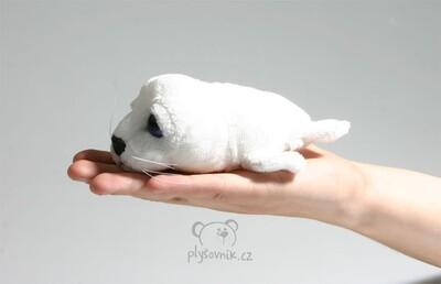 Plyšová hračka: Tuleň Icy bílý menší plyšový   Russ Berrie