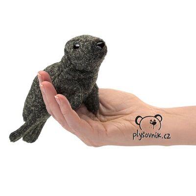 Plyšová hračka: Tuleň na prst plyšový | Folkmanis