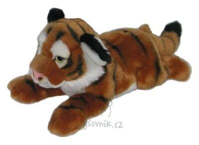 Plyšová hračka: Tygr ležící plyšový | Global Express