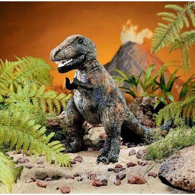 Plyšová hračka: Tyranosaurus Rex střední plyšový | Folkmanis