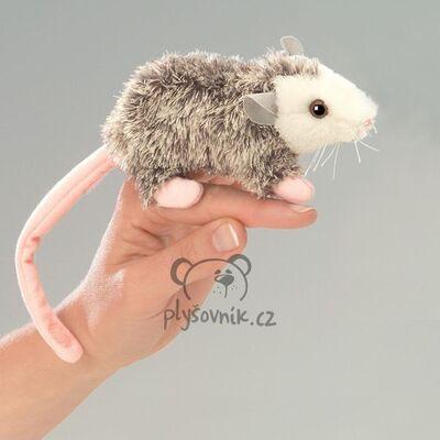 Plyšová hračka: Vačice na prst plyšová | Folkmanis