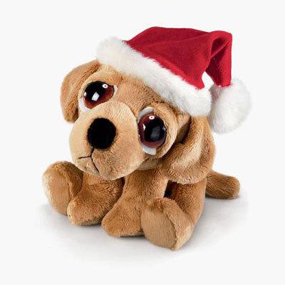 Plyšová hračka: Vánoční labrador Barney plyšový | Russ Berrie