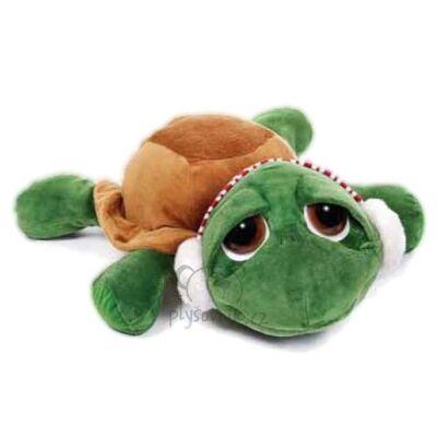 Plyšová hračka: Vánoční želva Shecky menší plyšová | Russ Berrie