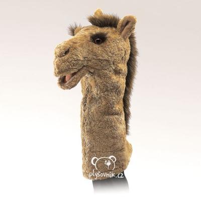 Plyšová hračka: Velbloud maňásek na ruku plyšový | Folkmanis