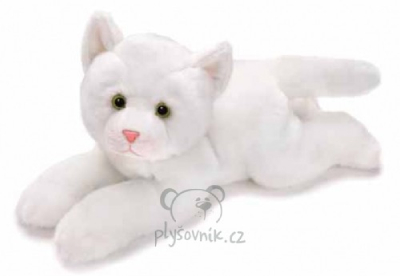 Plyšová hračka: Velká bílá kočička plyšová | Russ Berrie