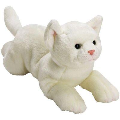 Plyšová hračka: Velká bílá kočička plyšová | Suki Gifts