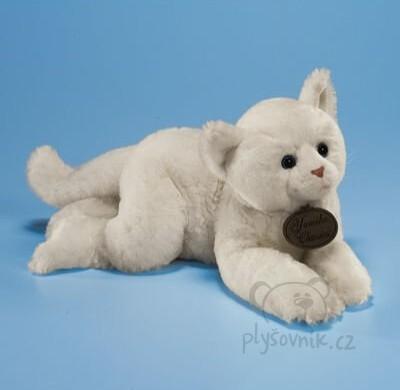 Plyšová hračka: Velká bílá kočka plyšová | Russ Berrie