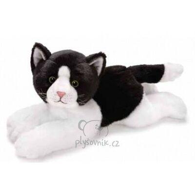 Plyšová hračka: Velká černo-bílá kočička Anežka plyšová | Russ Berrie