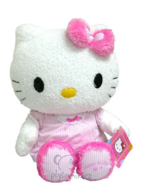 Plyšová hračka: Velká Hello Kitty se schránkou plyšová   Sanrio
