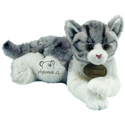 Plyšová hračka: Velká mourovatá kočka plyšová   Russ Berrie
