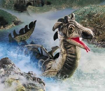 Plyšová hračka: Velký mořský had plyšový | Folkmanis